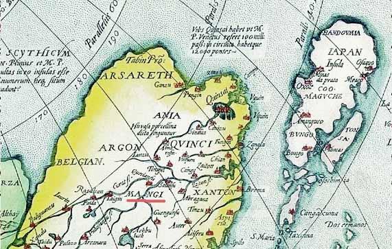 Апокалипсис Гог из земли Магог. Карта Манги_2.
