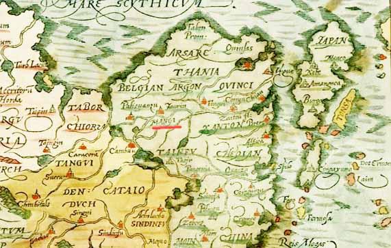 Карта Манги 4.